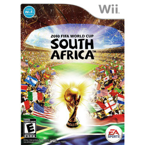 2010 FIFA World Cup South Africa Video Game for Nintendo Wii