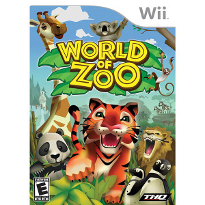 World of Zoo Video Game for Nintendo Wii