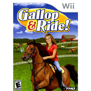 Gallop & Ride! Video Game for Nintendo Wii