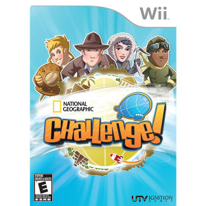 National Geographic Challenge! Video Game for Nintendo Wii