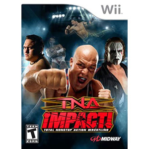TNA Impact! Video Game for Nintendo Wii