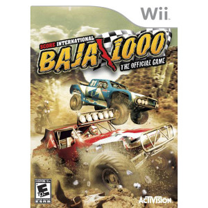 Score International Baja 1000 Video Game for Nintendo Wii
