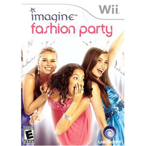 Imagine Fashion Party Video Game for Nintendo Wii