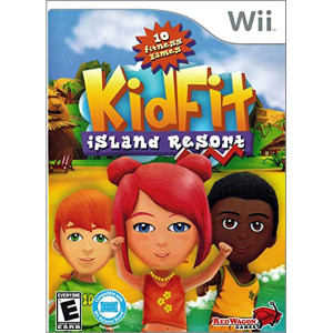 Kid Fit Island Resort Video Game for Nintendo Wii