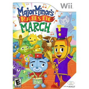Major Minor's Majestic March Video Game for Nintendo Wii