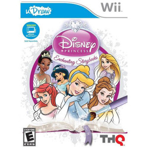uDraw Disney Princess Enchanting Storybooks Video Game for Nintendo Wii