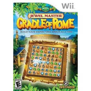 Jewel Master Cradle of Rome Video Game for Nintendo Wii
