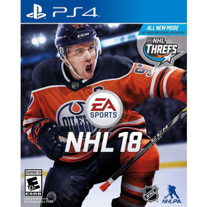 NHL 18 Video Game for Sony PlayStation 4