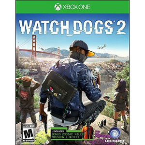Watch Dogs 2 Video Game for Microsoft Xbox One