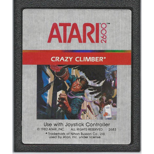 Crazy Climber Video Game for Atari 2600