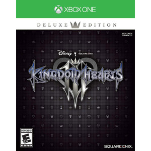 Kingdom Hearts III Deluxe Edition Video Game Bundle for Microsoft Xbox One