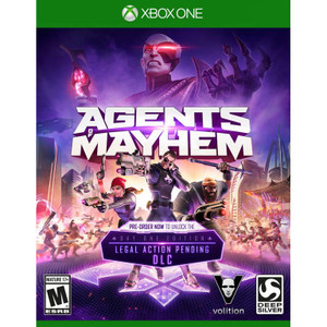 Agents of Mayhem Video Game for Microsoft Xbox One