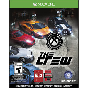 The Crew Video Game for Microsoft Xbox One
