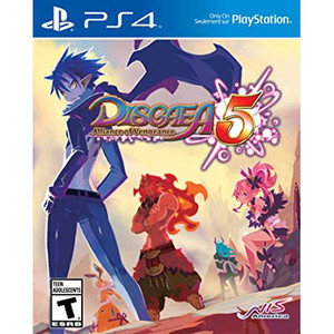 Disgaea 5 Alliance of Vengeance Video Game for Sony PlayStation 4