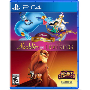 Disney Classic Games: Aladdin and The Lion King Video Game for Sony PlayStation 4