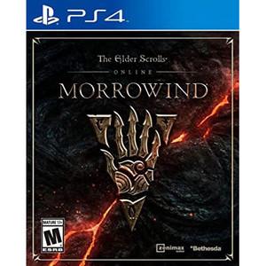 Elder Scrolls Online Morrowind Video Game for Sony PlayStation 4