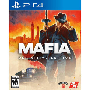Mafia Definitive Edition Video Game for Sony PlayStation 4