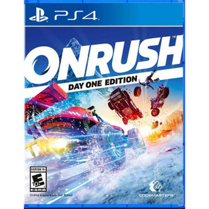 Onrush Video Game for Sony PlayStation 4