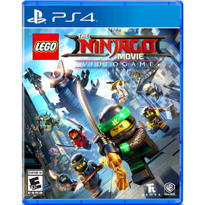 LEGO Ninjago Movie Video Game Video Game for Sony PlayStation 4