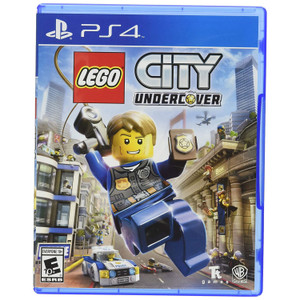 LEGO City Undercover Video Game for Sony PlayStation 4