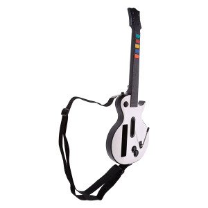 Wireless White Guitar for Nintendo Wii Gaming System