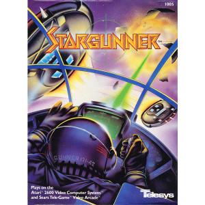 Stargunner Video Game for Atari 2600