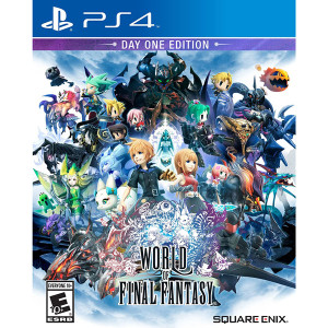World of Final Fantasy Video Game for Sony PlayStation 4