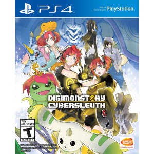 Digimon Story Cyber Sleuth Video Game for Sony PlayStation 4