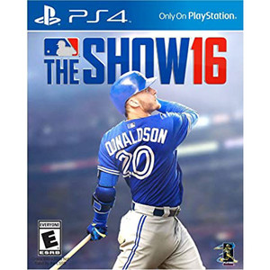 MLB 16 The Show Video Game for Sony PlayStation 4