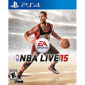 NBA Live 15 Video Game for Sony PlayStation 4
