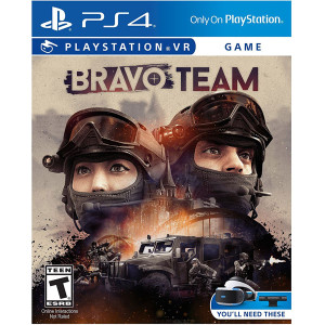 Bravo Team Virtual Reality Video Game for Sony PlayStation 4