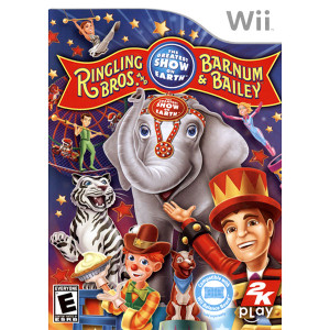 Ringling Bros and Barnum & Bailey Greatest Show on Earth Video Game for Nintendo Wii