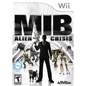 MIB Alien Crisis Video Game for Nintendo Wii