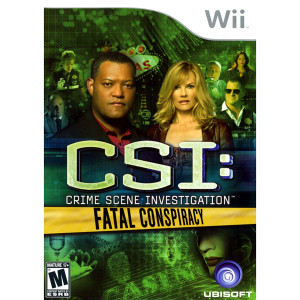 CSI Fatal Conspiracy Video Game for Nintendo Wii