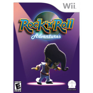 Rock N Roll Adventures Video Game for Nintendo Wii