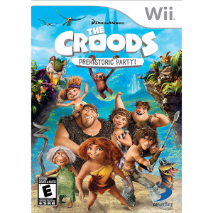 The Croods Prehistoric Party Video Game for Nintendo Wii