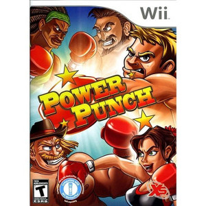 Power Punch Video Game for Nintendo Wii