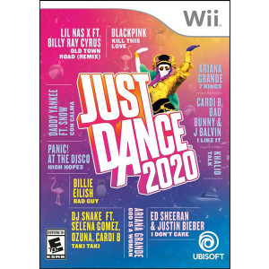 Just Dance 2020 Video Game for Nintendo Wii