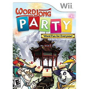 WordJong Party Video Game for Nintendo Wii