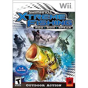 Shimano Xtreme Fishing Video Game for Nintendo Wii