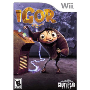 Igor The Game Video Game for Nintendo Wii