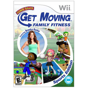 Jump Start Get Moving Family Fitness Sports Edition Video Game for Nintendo Wii