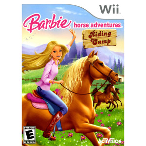 Barbie Horse Adventures Riding Camp Video Game for Nintendo Wii