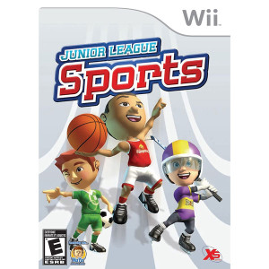 Junior League Sports Video Game for Nintendo Wii