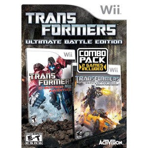 Transformers Ultimate Battle Edition Video Game for Nintendo Wii