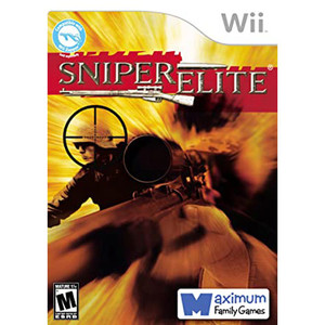 Sniper Elite Video Game for Nintendo Wii
