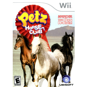 Petz Horse Club Video Game for Nintendo Wii