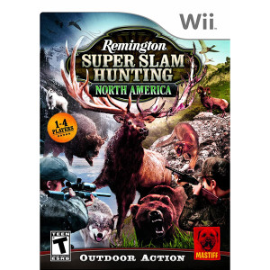 Remington Super Slam Hunting North America Video Game for Nintendo Wii