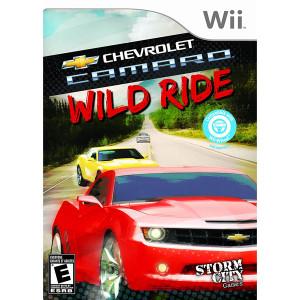 Chevrolet Camaro Wild Ride Video Game for Nintendo Wii