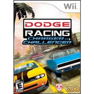 Dodge Racing Charger vs Challenger Video Game for Nintendo Wii